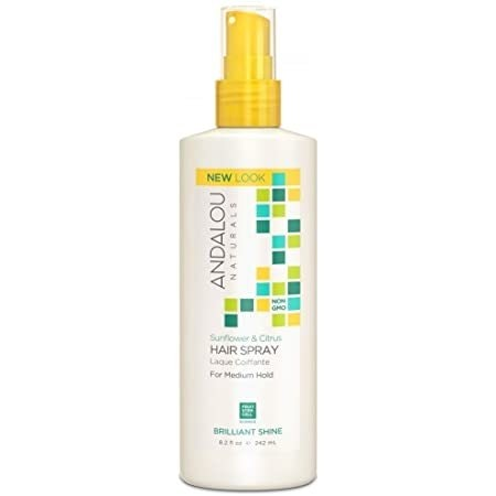 Angelou Naturals Sunflower and Citrus Hairspray