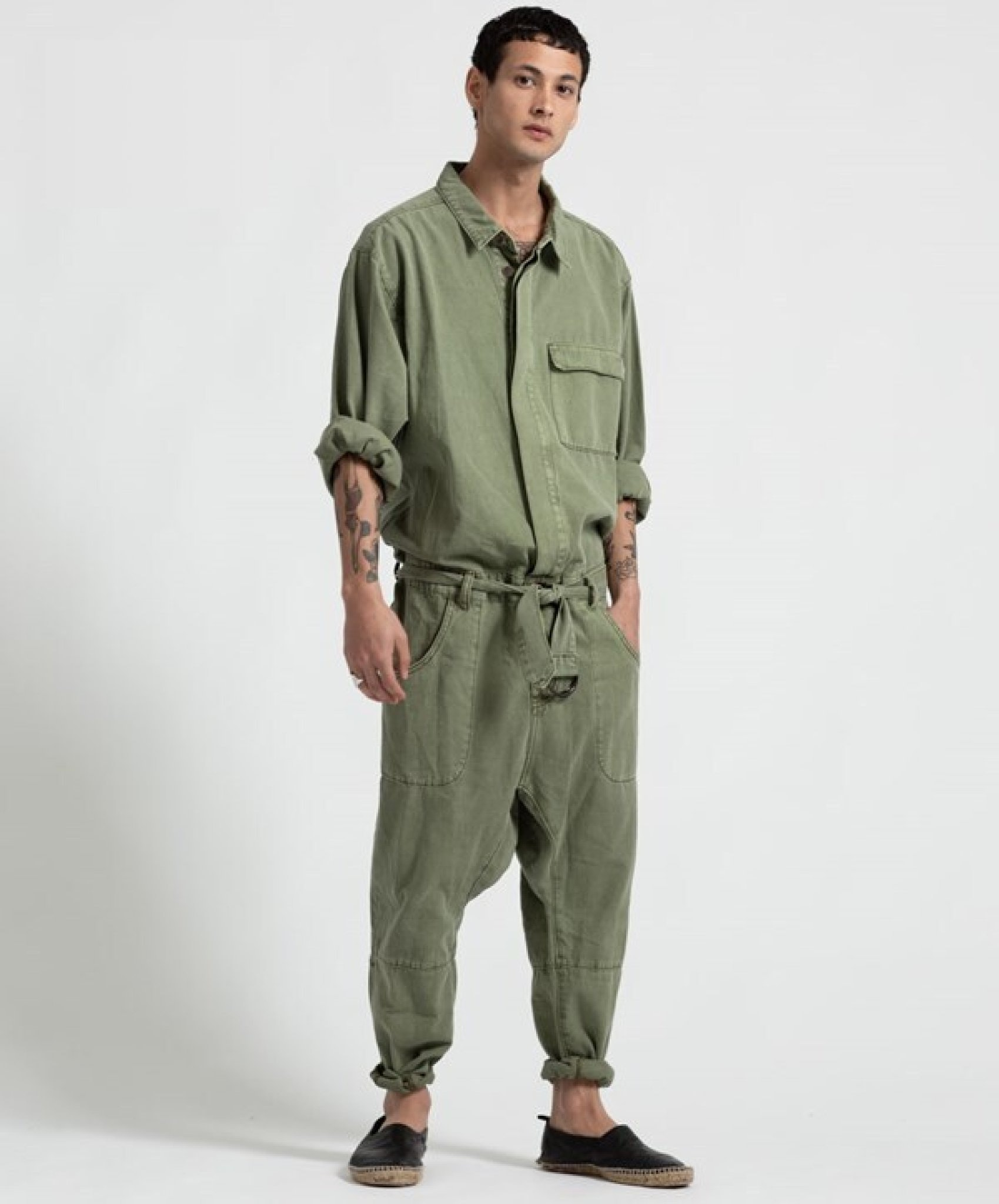 One Teaspoon Khaki Utility Suit