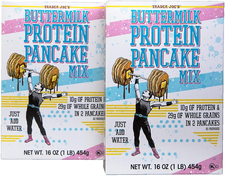 Trader Joes Protein Pancake Mix