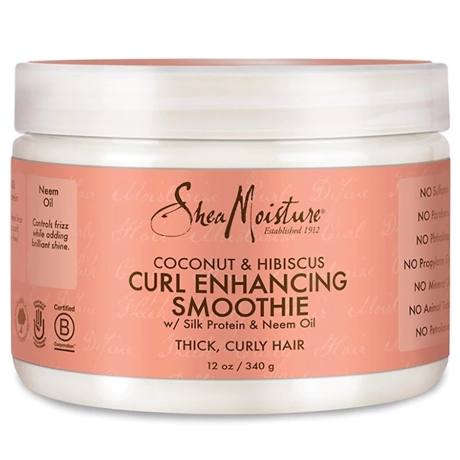 Coconut & Hibiscus by Sheamoisture Curl Enhancing Smoothie
