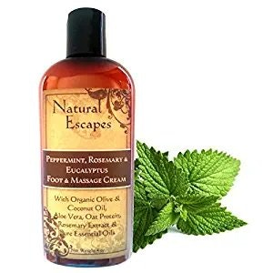 Natual Escapes Eucalyptus, Peppermint & Rosemary Foot Cream