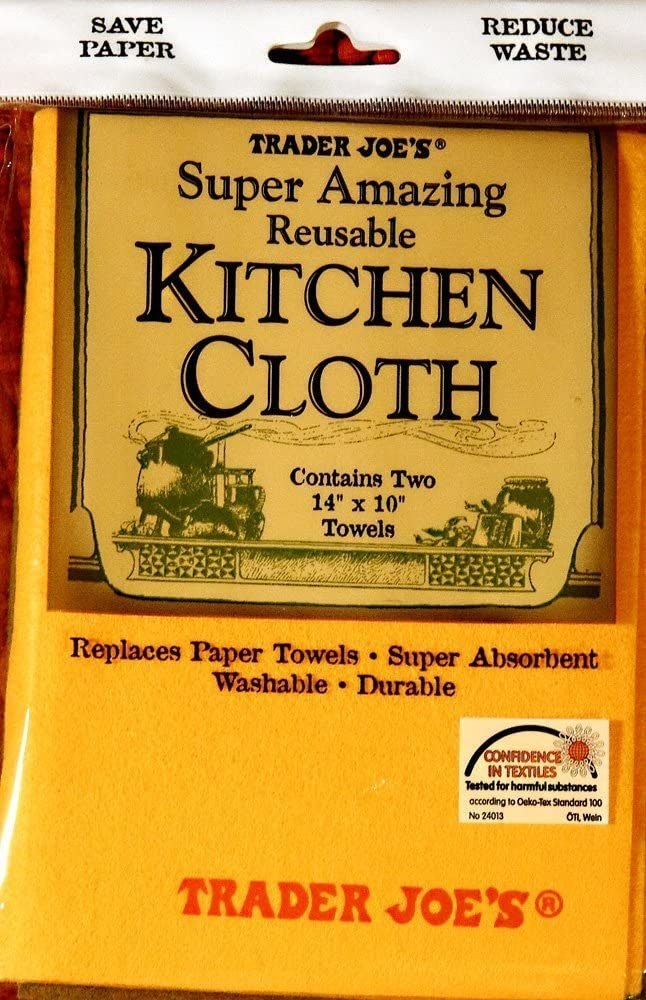 Trader Joes Super Amazing Kitchen Cloths
