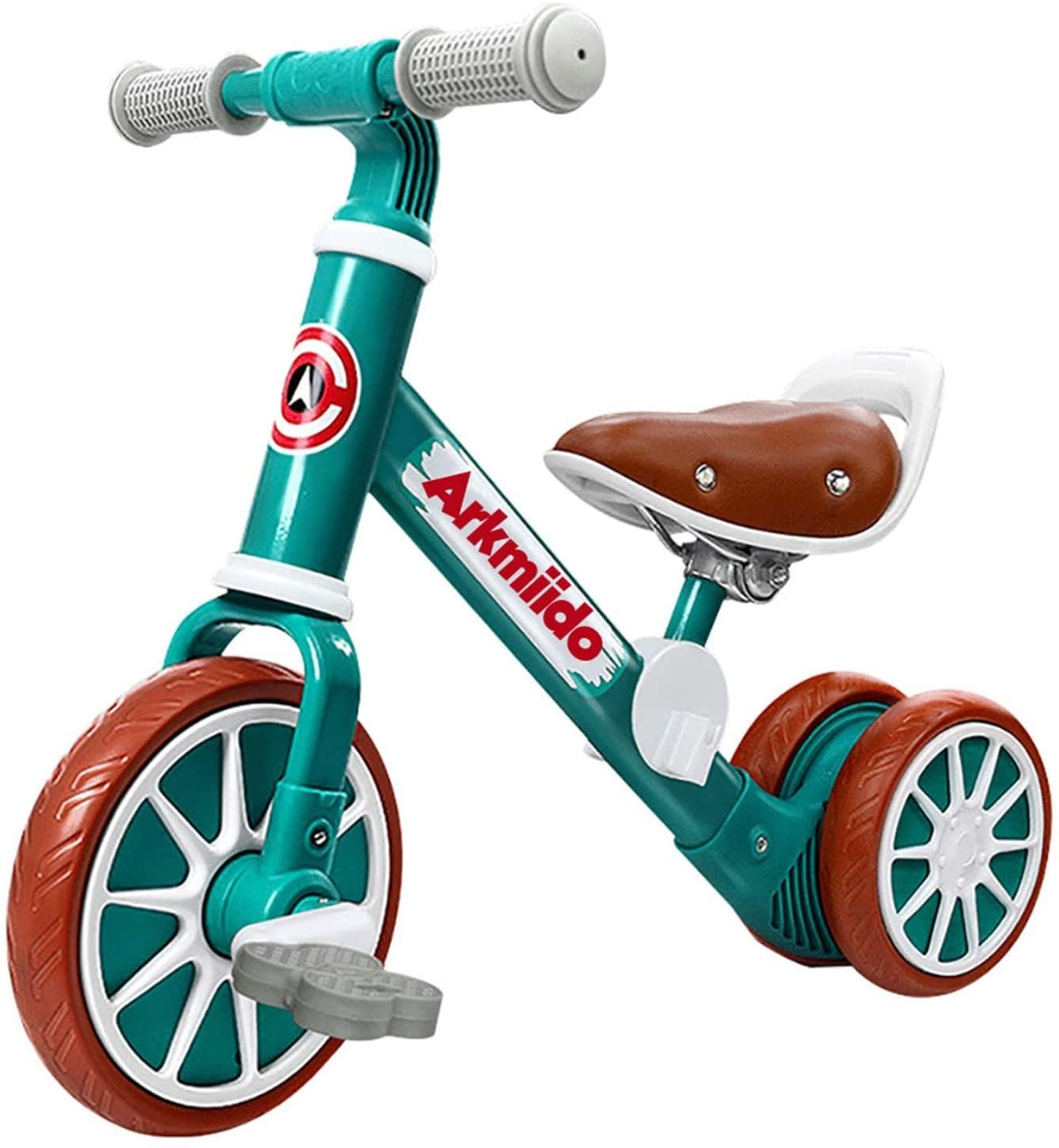 Baby Balance Bike With Detachable Pedals