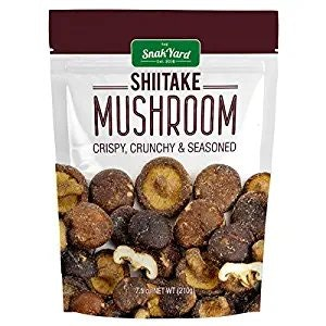 Shiitake Mushroom Crisps
