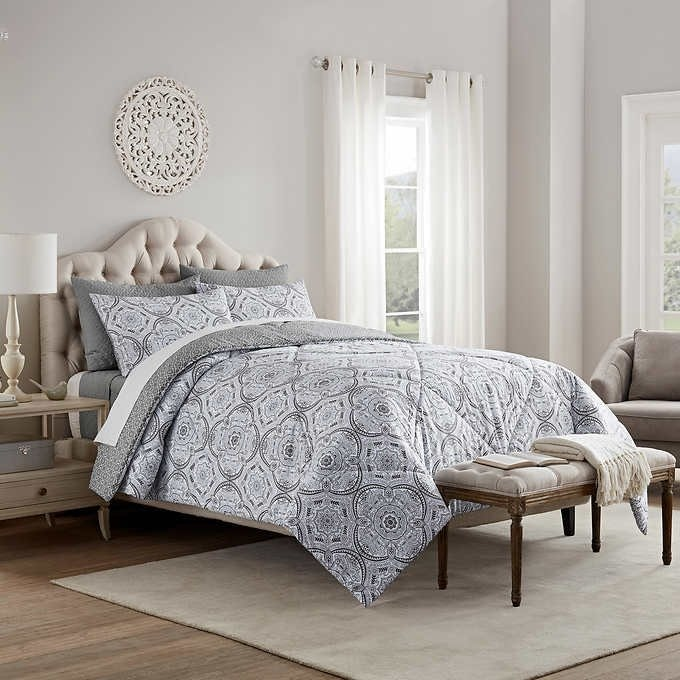 Style Décor Emma 6pc Comforter and Coverlet