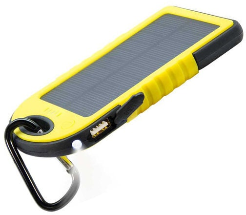 ZGear Solar Bank: Battery/Charger