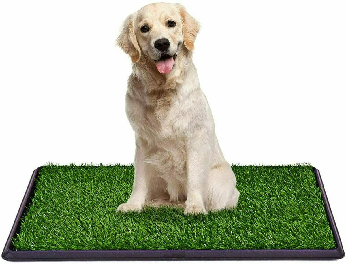 Giantex Pet Potty Pad With Artificial Grass