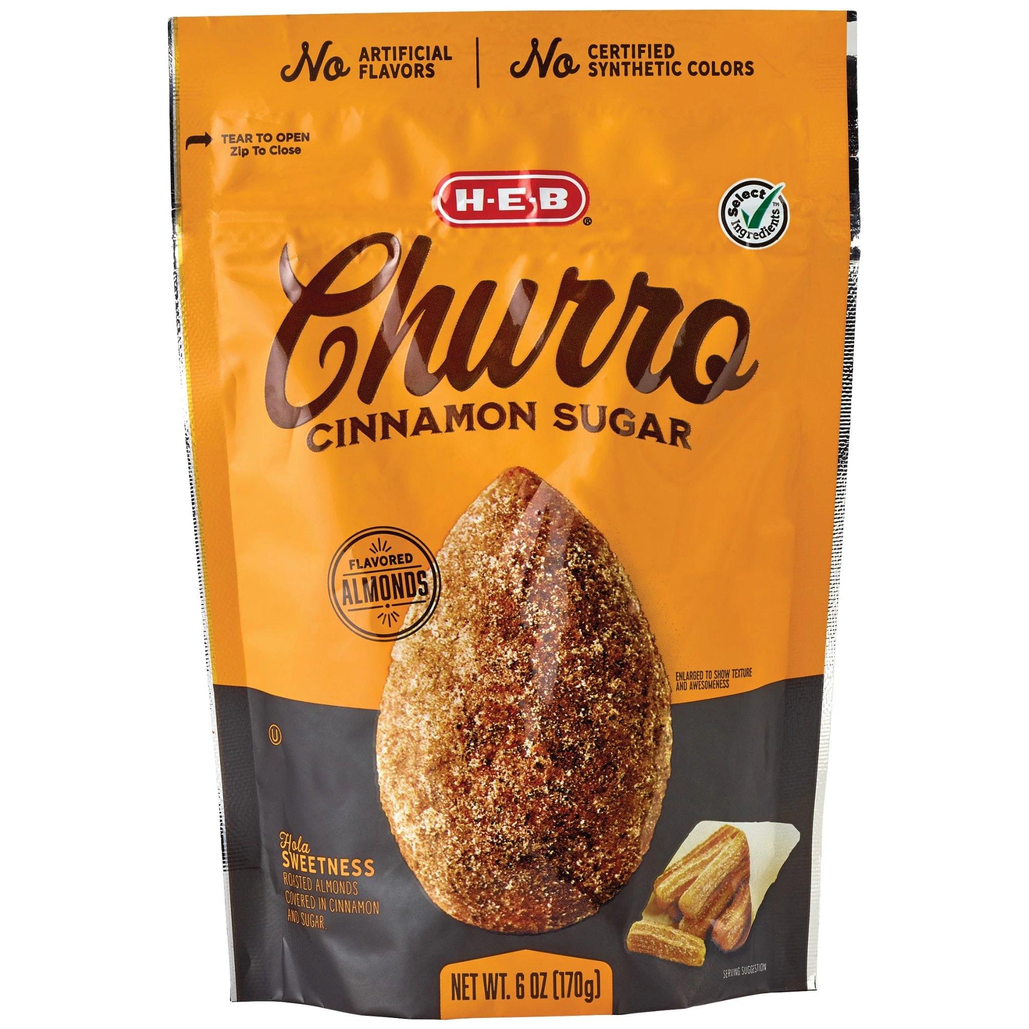HEB Churro Cinnamon Sugar Almonds