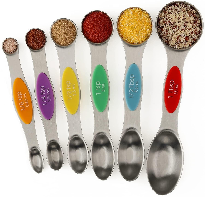Niuta Magnetic Measuring Spoons Dual Sided