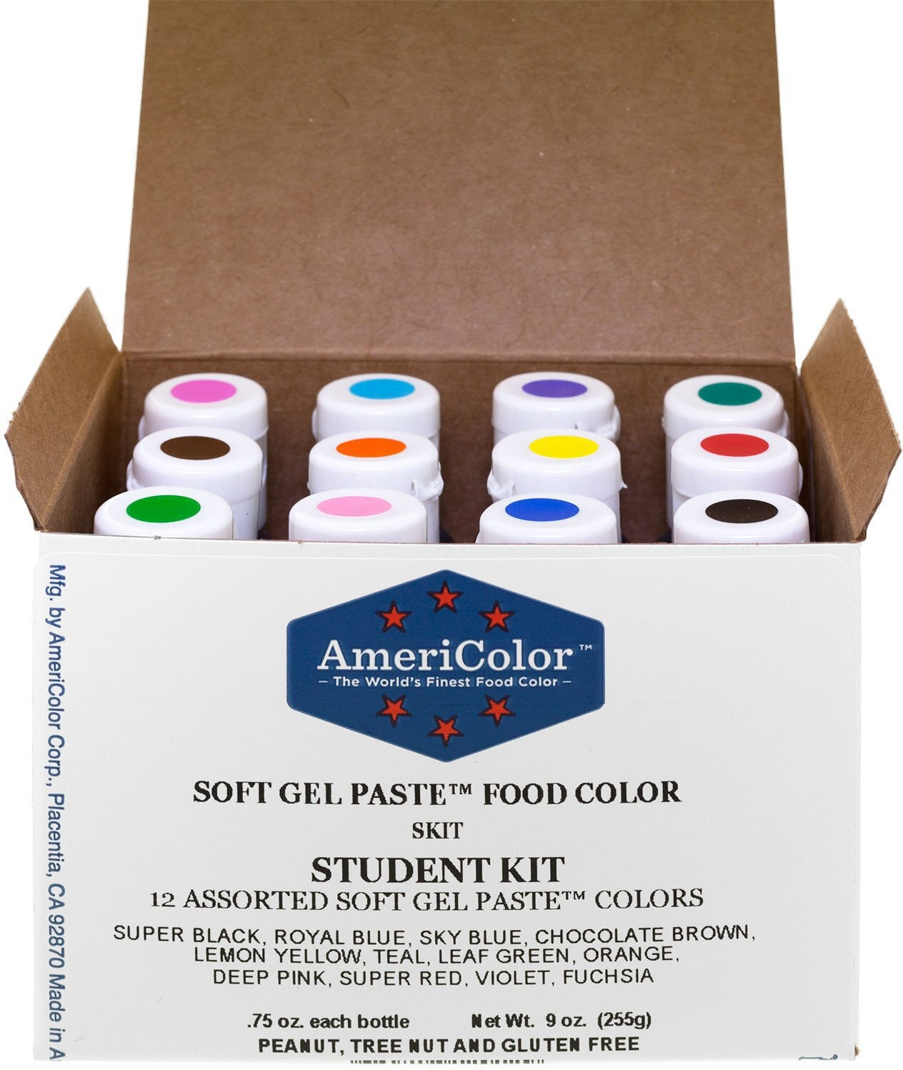 AmeriColor Student Soft Gel Paste Food Color