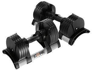 Core Home Fitness Adjustable Dumbbell Set