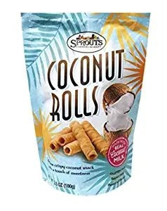 Sprouts Dark Chocolate Dipped Coconut Rolls
