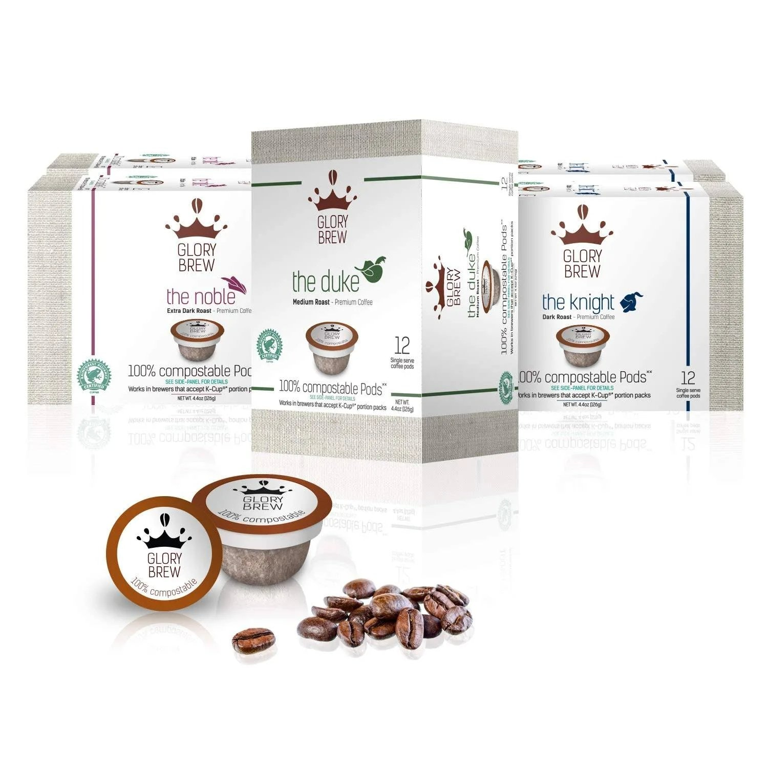 Glorybrew Variety Pack Compostable K-Cups