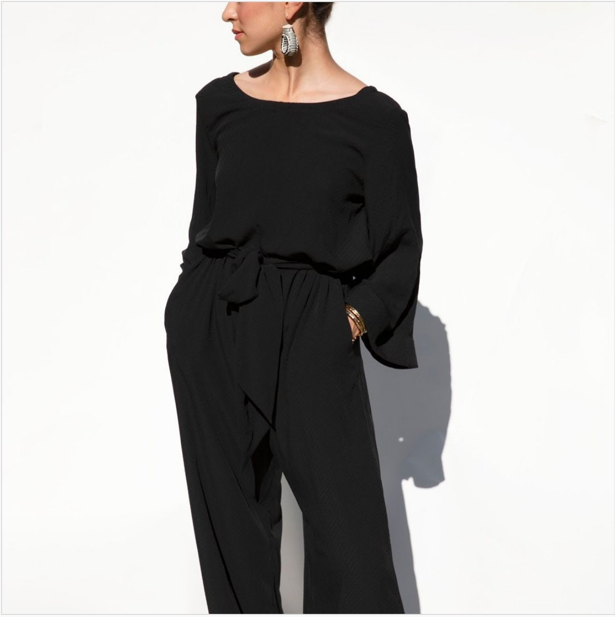"""Cura Collection """"Tomoko"""" Jumpsuit"""