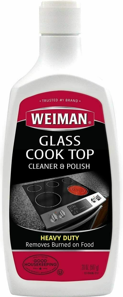 Weiman Glass Cook Top Heavy Duty Cleaner & Polis
