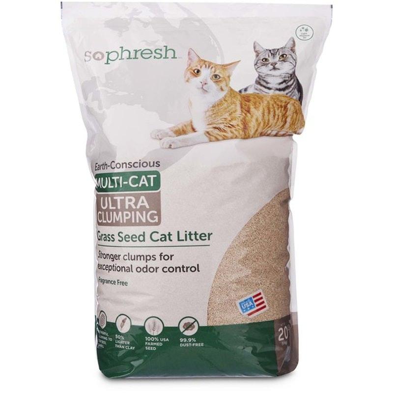 So Phresh Grass Seed Cat Litter