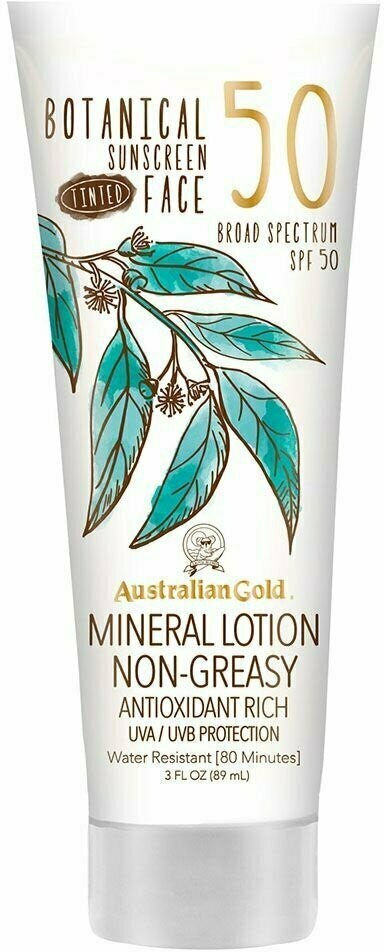 Australian Gold Botanical Tinted Face Lotion