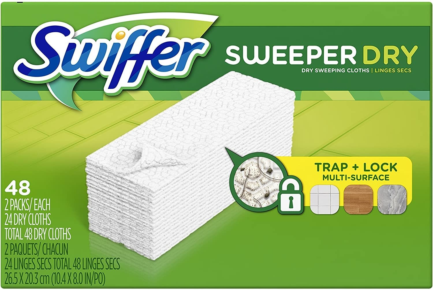 Swiffer Sweeper Dry Sweeping Cloth