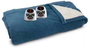 Biddeford Microplush Sherpa Electric Blanket