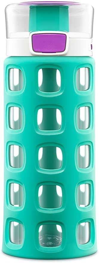 Ello Dash BPA-Free Tritan Water Bottle With Silicone Sleeve