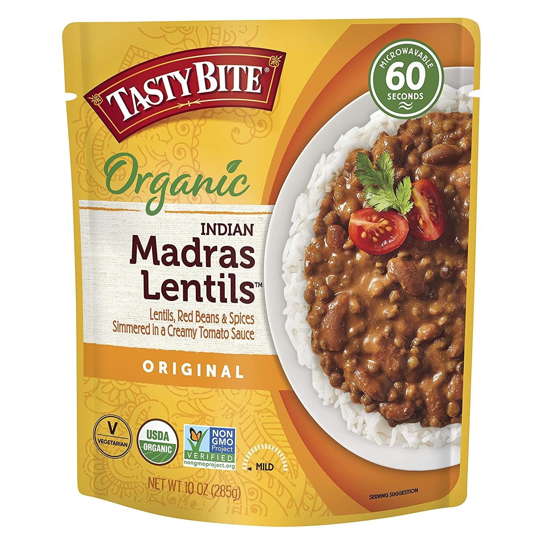 Tasty Bite Organic Indian Madras Lentils