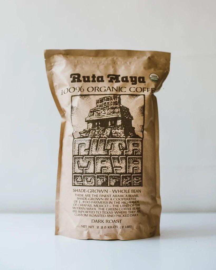 Ruta Maya Dark Roast Organic Coffee Beans