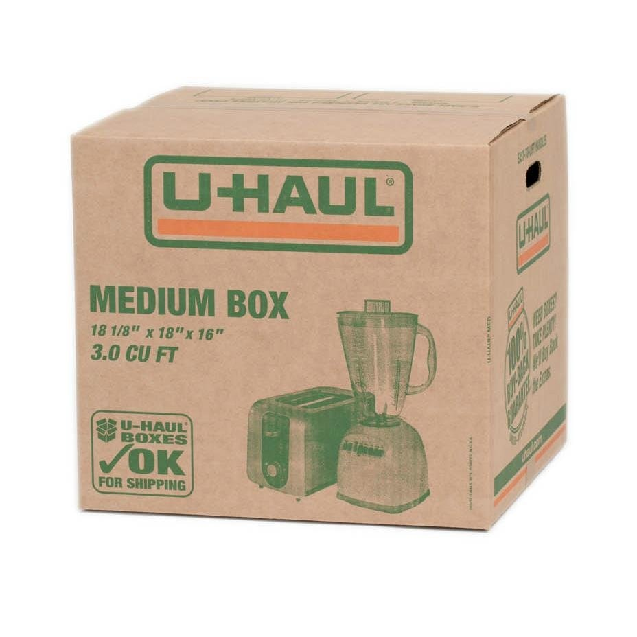 Uhaul Boxes and Supplies