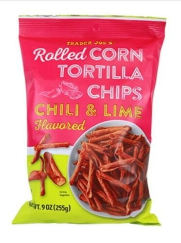 Trader Joe's Chili & Lime Rolled Corn Chips