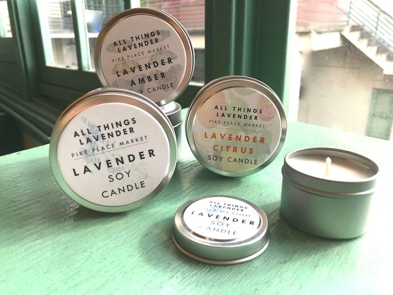 All Things Lavender Soy Candle