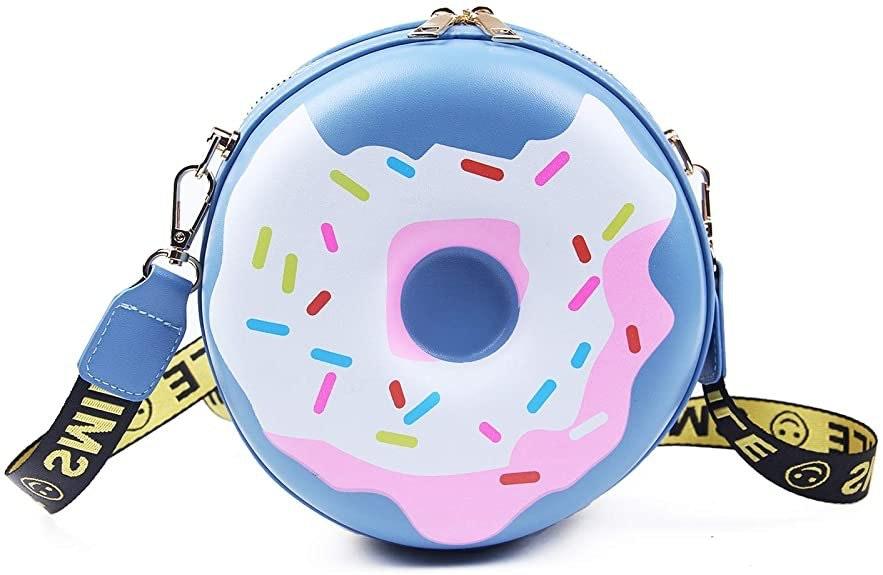 Lui Sui Girls Doughnut Cross Body Purse