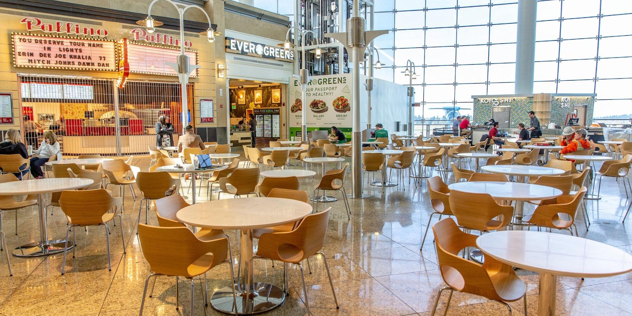Central Terminal at SEA Airport