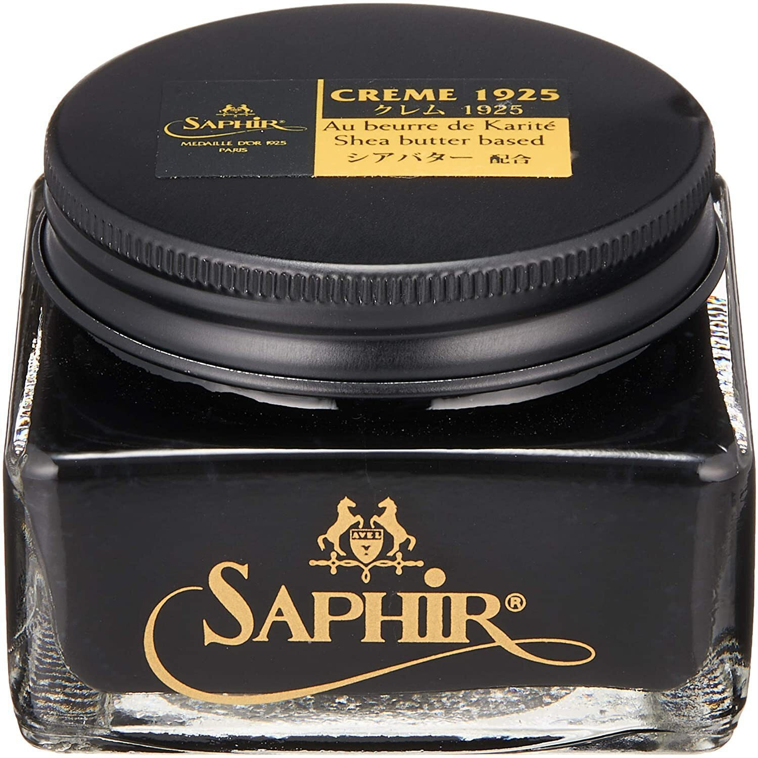 Saphir Medaille D'Or Pommadier Leather Shoe Polish