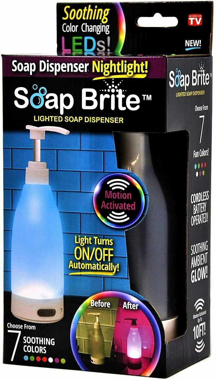 Soap Brite LED Lighted Dispenser