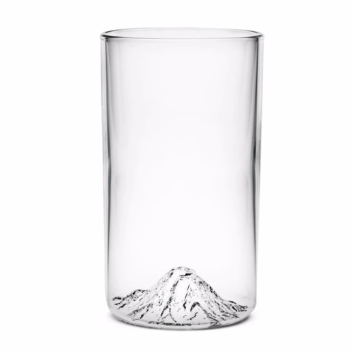 North Drinkware Mt. Rainier Pint