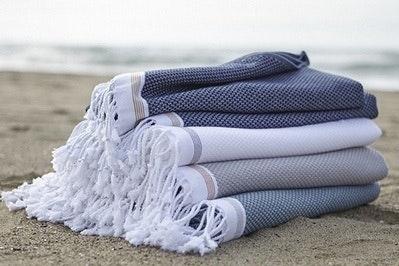 Coyuchi Mediterranean Beach Towel
