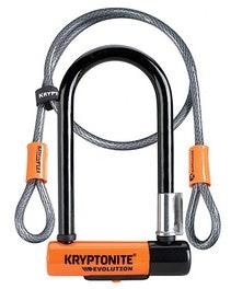 Kryptonite New-U Mini-7 W/ Double Loop Cable