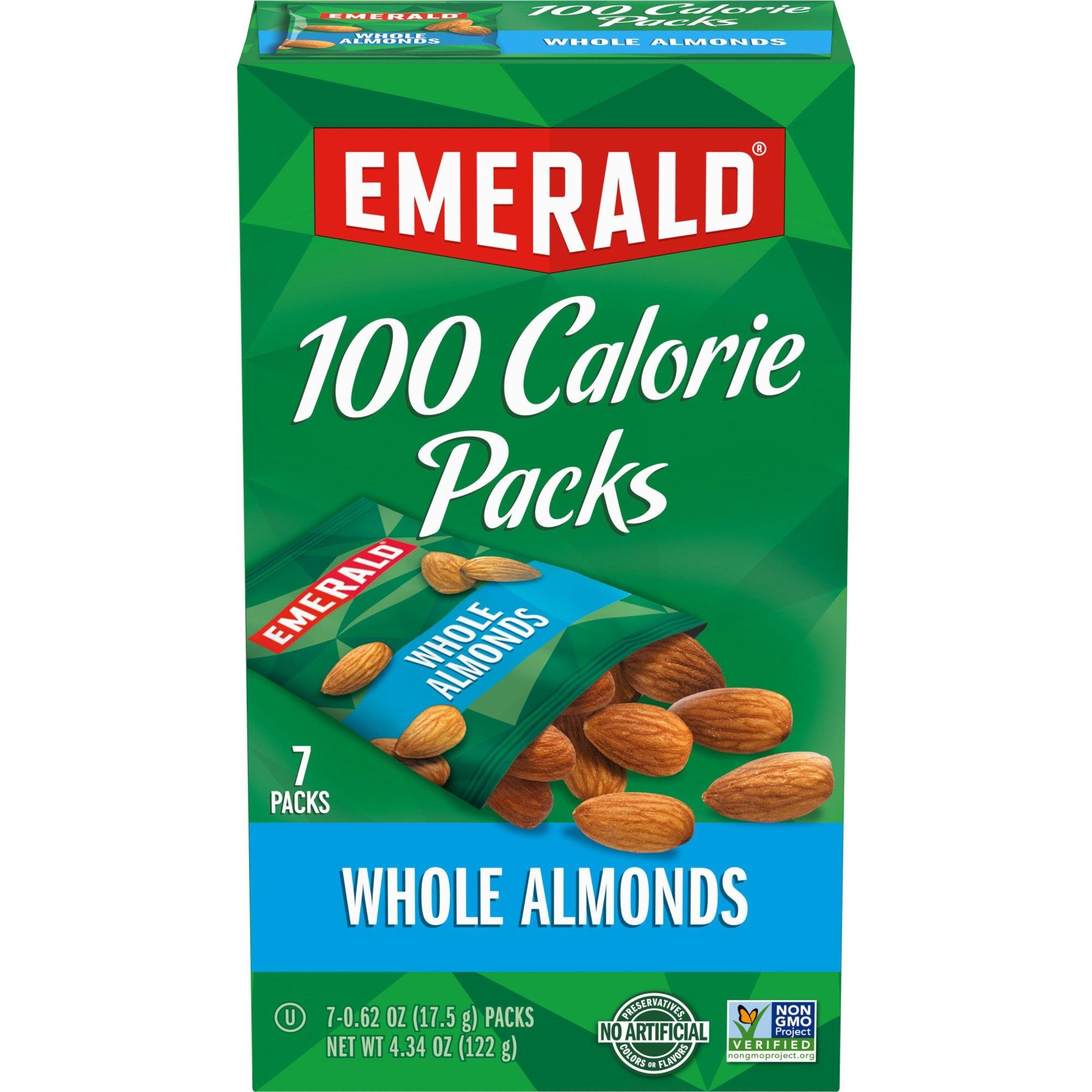 Emerald Whole Almonds 100 Calorie Pack
