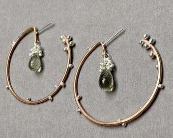 Hoop Earrings- Yedomi Jewelry