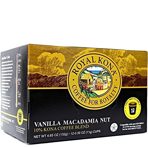 Royal Kona Coffee Vanilla Macadamia
