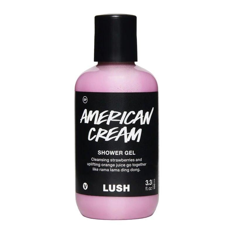 American Cream Shower Gel