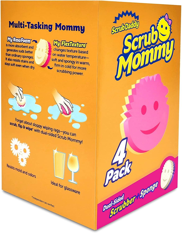 Scrub Daddy Scrub Mommy Dual Sided Sponge