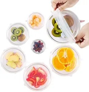 Unwasted Silicone Stretch Lids