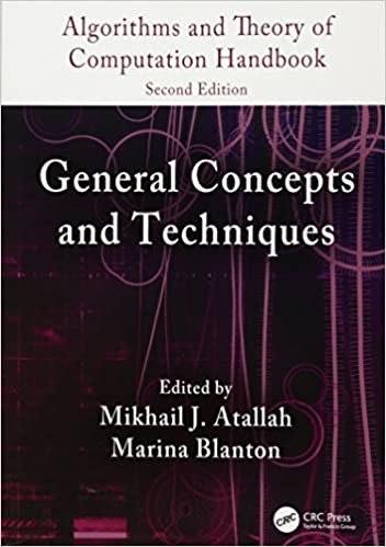 Algorithms and Theory of Computation Handbook