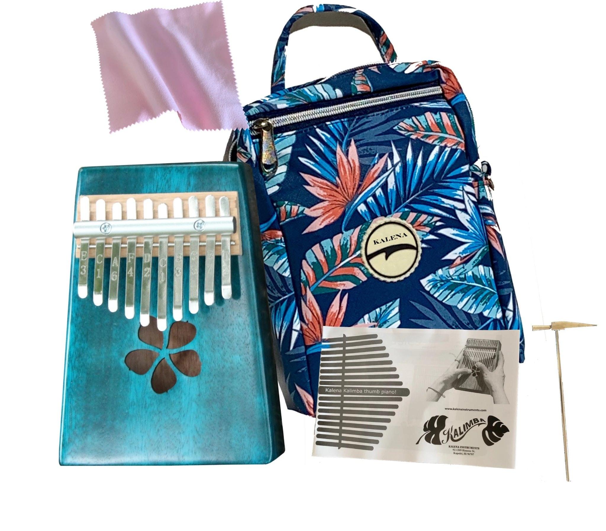 Kalena Instruments Mahogany Kalimba