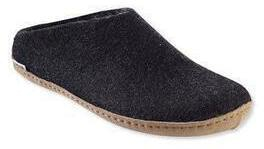 Glerups Wool Slippers Open Heel