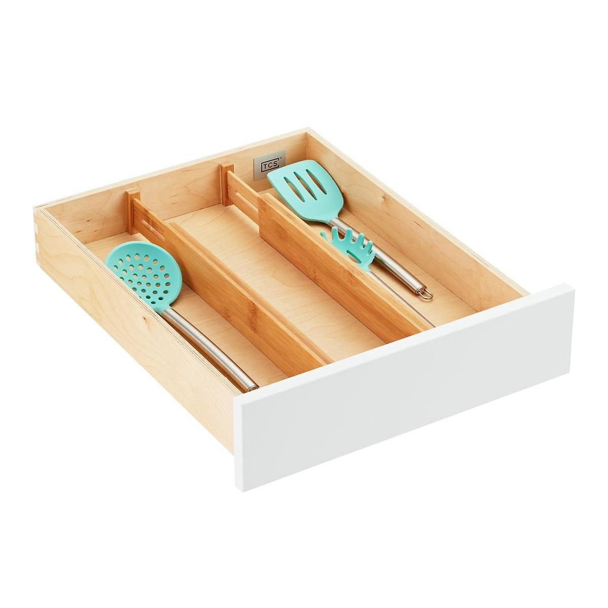 Container Store Bamboo Drawer Dividers