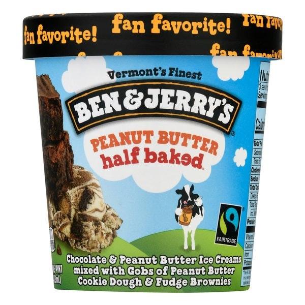 Ben & Jerry's Peanut Butter Icecream