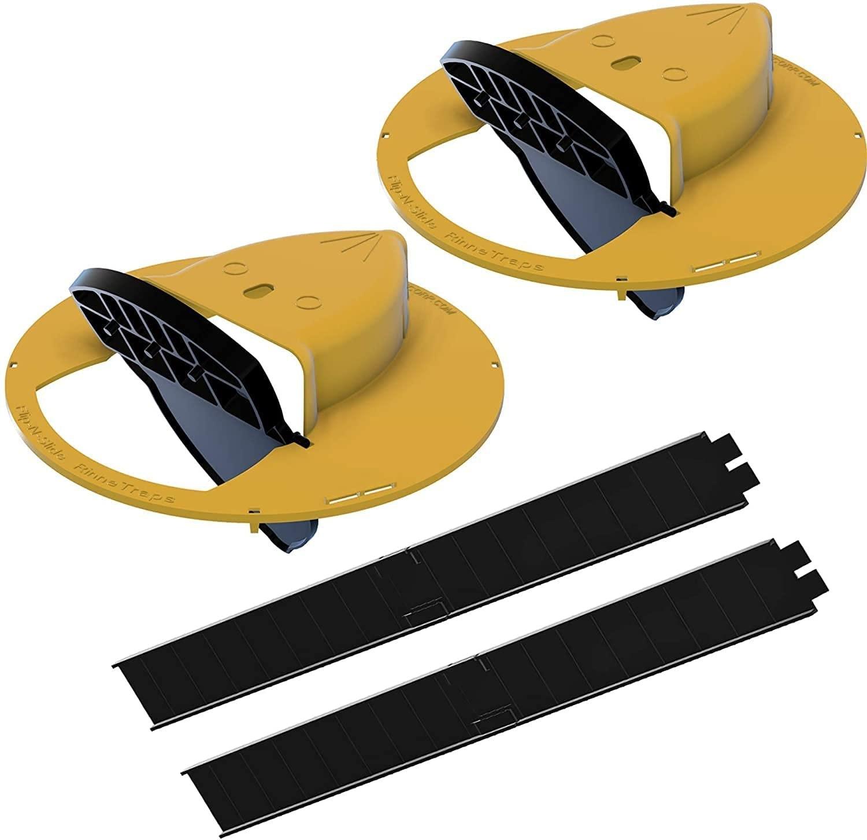 Rinnetraps - Flip N Slide Bucket Lid Mouse Trap
