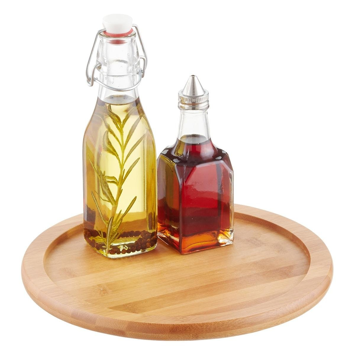 Container Store Bamboo Lazy Susan