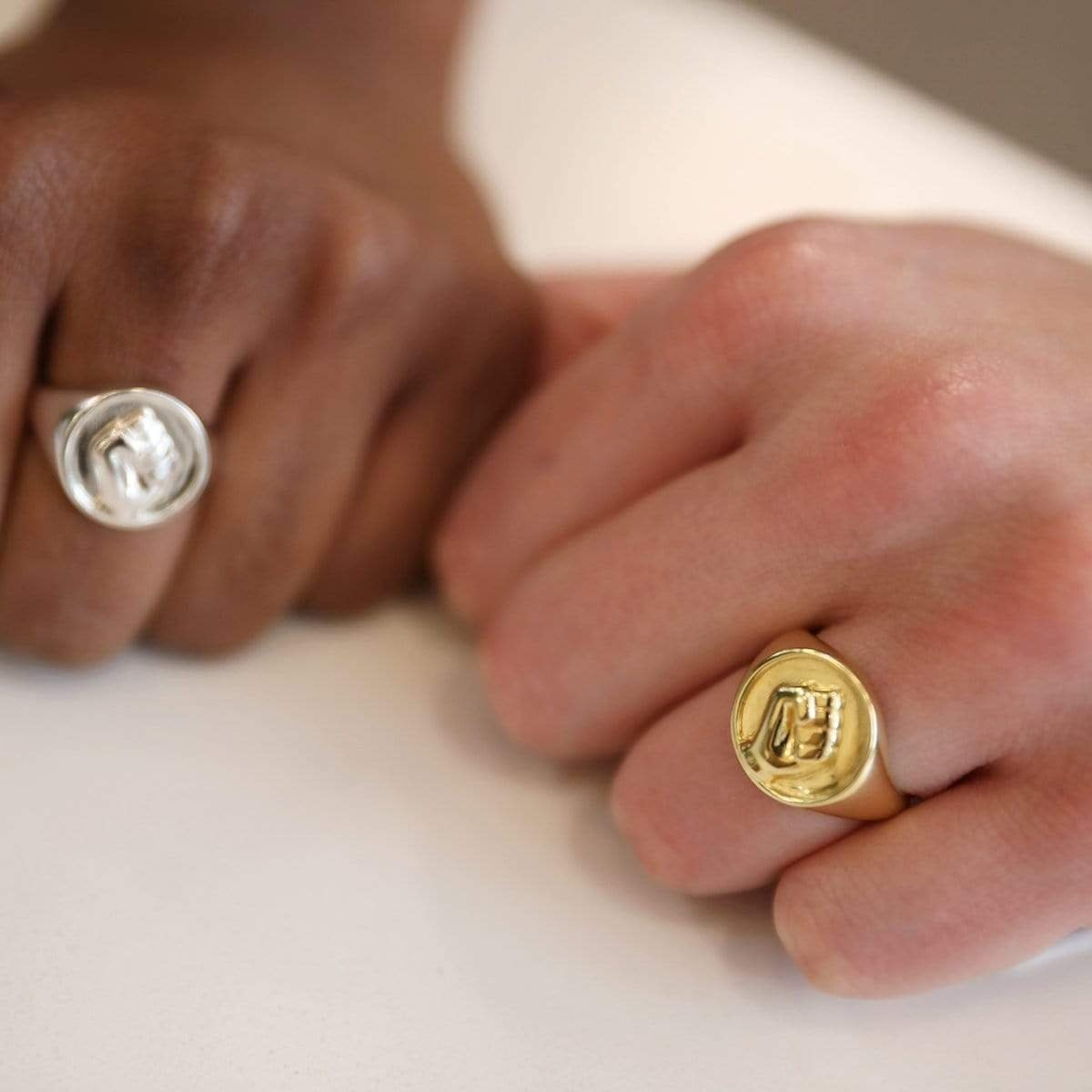 This Matters Power Signet Ring